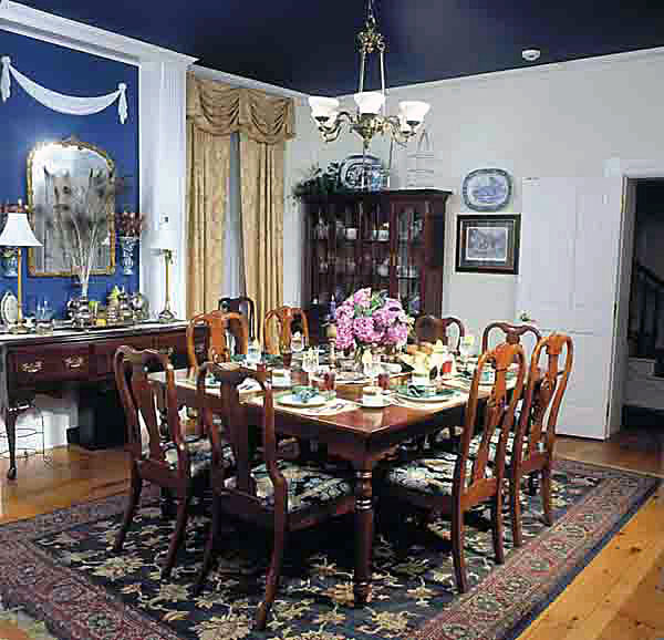 Dining Area, E.J. Bowman House Bed and Breakfast