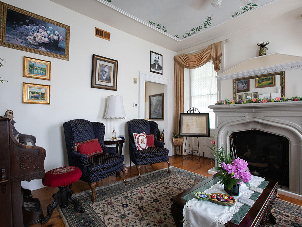 Living Room, E.J. Bowman House Bed and Breakfast