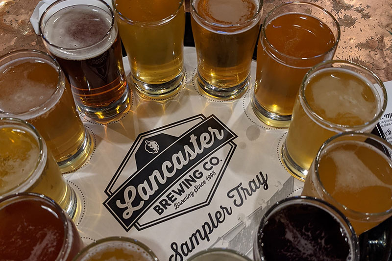 Lancaster Brewing Company Beers