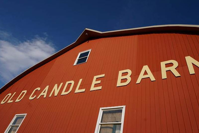 Old Candle Barn Exterior