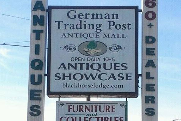 German Trading Post and Antiques Showcase